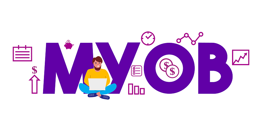MYOB graphic art